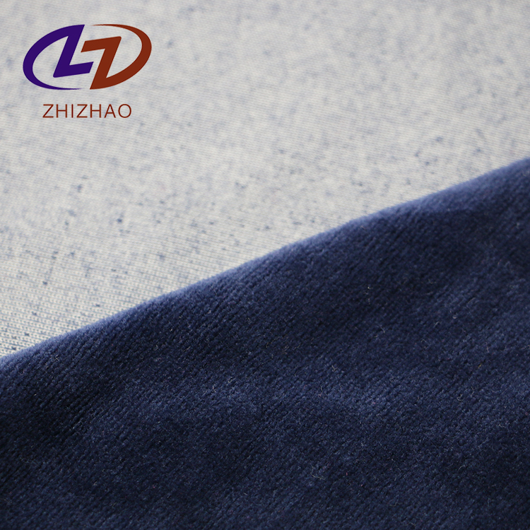 75 cotton 25 polyester Velour knitted fabric