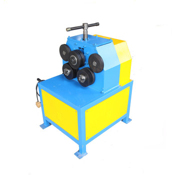 JY-50 round pipe or profile Steel Ring Bending Machine Angle Roll Machine