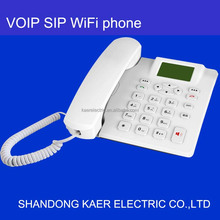 VOIP wifi sip desk phone