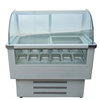 China Brands Front Glass Window Refrigerator Display Show Case/ Glass Window Ice Cream Display Cabinet