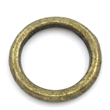 Jump Rings/ Pendants/Connectors Jewelry Making Findings Circle/Ring Antique Bronze 8mm Dia