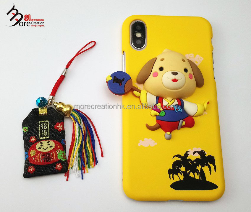 3D Cartoon Squishy Sound mobile phone case
