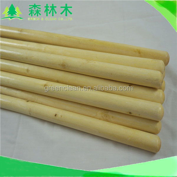 Wholesale suppliers eucalyptus broom wooden pole