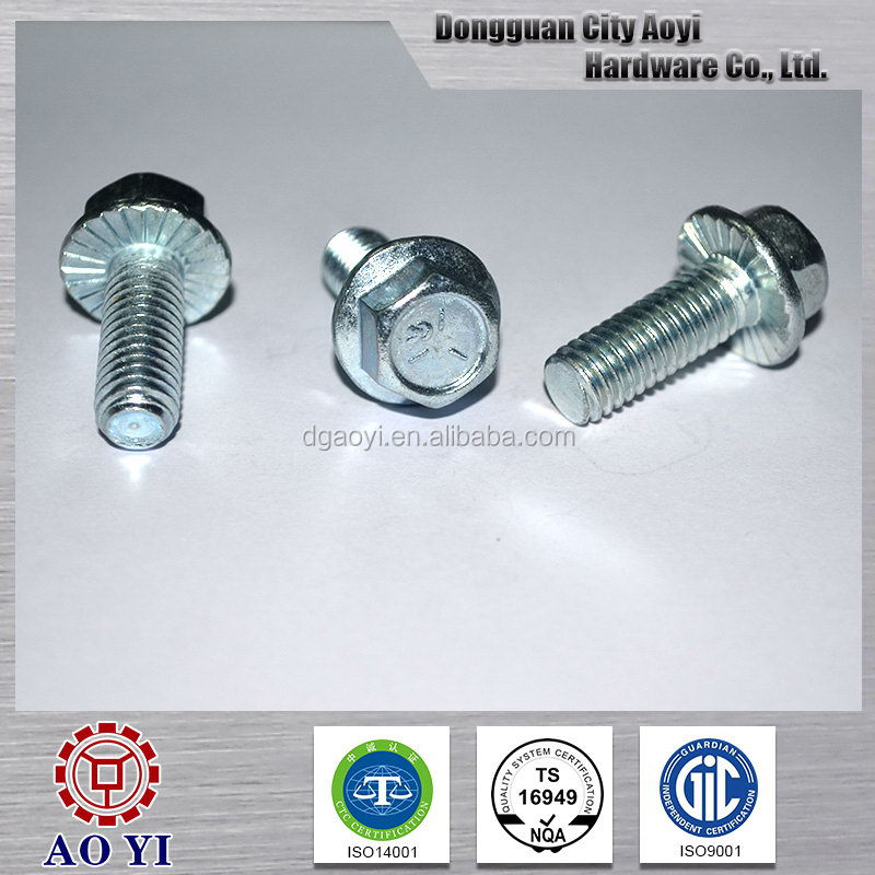 Top quality design case hardened bolts