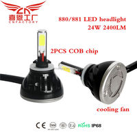 CAR LED HEADLIGHT auto parts H1 H3 H4 H7 led bulbs wholesale price high quality