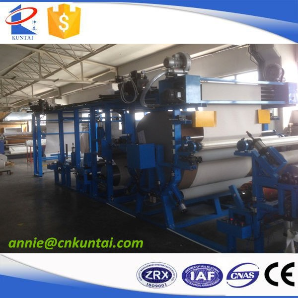Automatic Laminating Machine for Fabric, Nonwoven, Velvet and Hot Melt Film