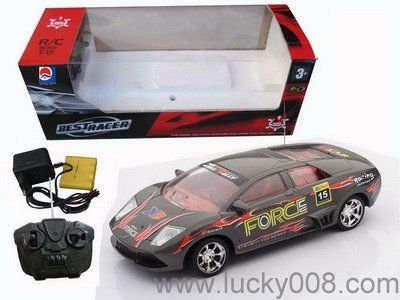 26cm 1:18 R/C racing car toys 4channel radio remote control car with light
