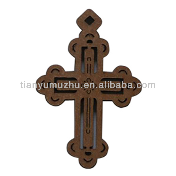 classic jesus pray wooden cross wall hanging
