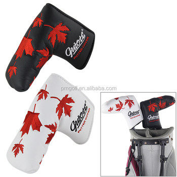 2015 New PU Leather Golf Head Cover for Scotty Cameron Taylormade Odysse NEW Canada Flag for Winter