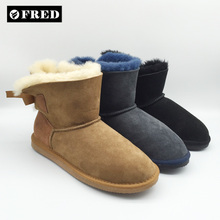 women eva fur winter boots