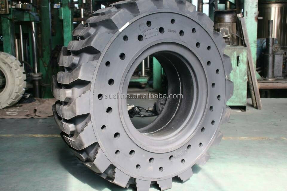G 818 forklift solid tyre ,penumatic solid tyre ,forklift industrial wheel loader resilient rubber solid tire