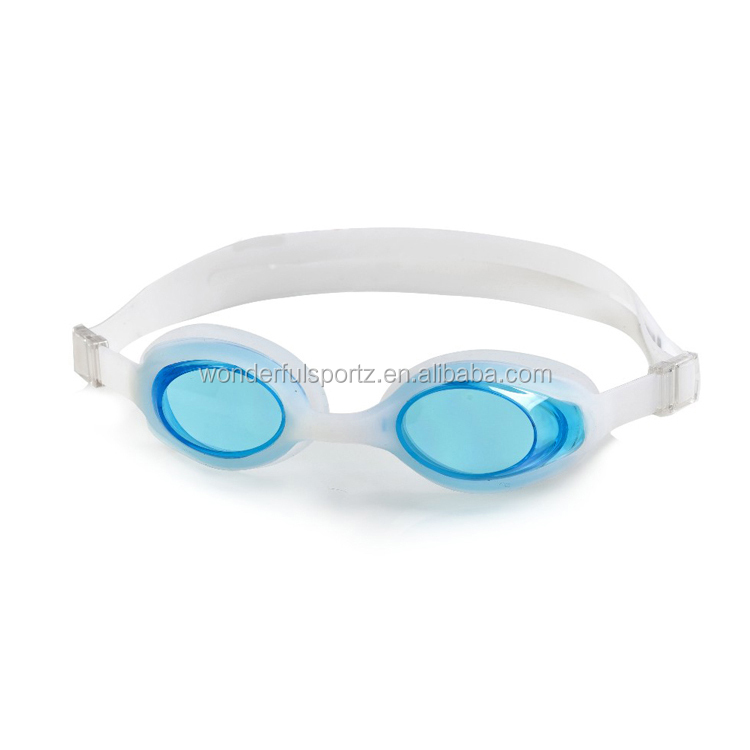 Advanced auto racing plating silicone swimming goggles