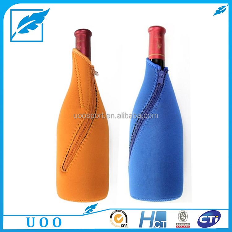 Hot Sale Neoprene Fabric Wine Bottles Covers