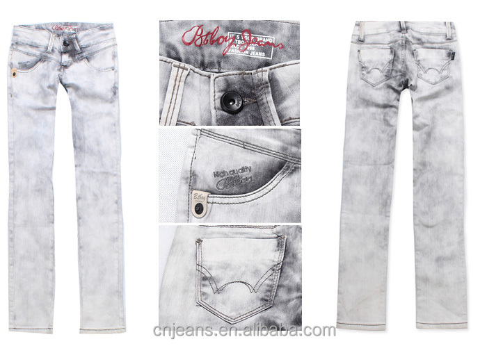 GZY Stock lots Cheap price many styles Mixed denim jeans