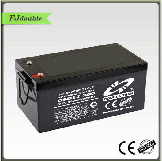 2017 hot sale lead acid battery, deep cycle battery 12v 300ah, 24v 300ah battery