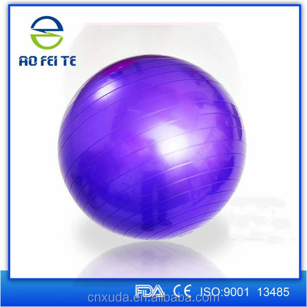 Wholesale <strong>Eco</strong> Anti Burst PVC Inflatable Customized Yoga Ball