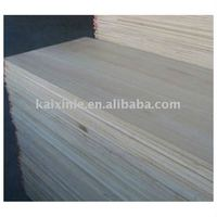 natural wood bleached finger jointed edge glued panels paulownia