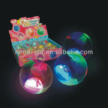 New arrival flashing light up water bouncing ball