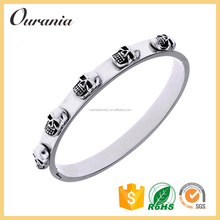 Mens Stainless Steel Bracelet Skull Jewelry Wholesale