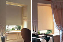 Hot selling simple style ready made outdoor blind anti-UV finished roller blinds and curtains with accessory