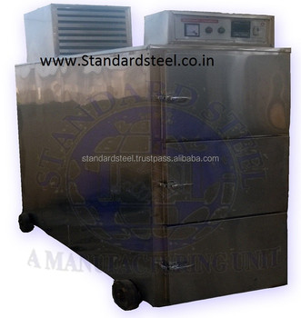 Stainless Steel Mortuary Chamber 3 body, Dead Body Cold Storage Refrigerator