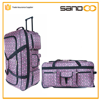 China wholesale fashion fancy ladies laptop trolley bag, travel bags with trolley sleeve