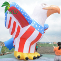 Giant Oxford Cloth Inflatable USA Flag Eagle Model Balloon For Advertising