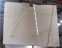 big slab white marble with gold vein