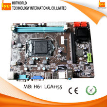 Support LGA1155 I3,I5,I7 processors Intel H61 ITX motherboard