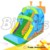 Snails Theme Commercial Inflatable Children Tobogan Water Slide With Pool