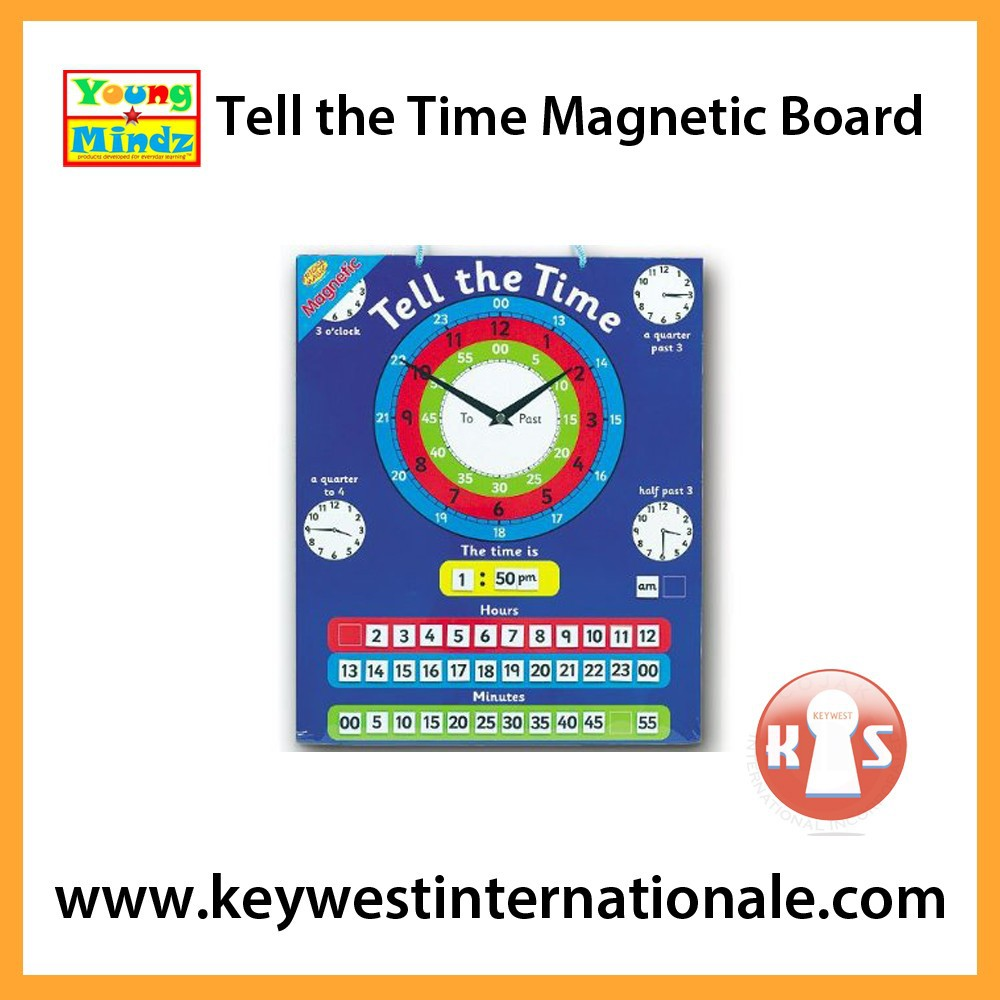 Tell the Time Magnetic Board