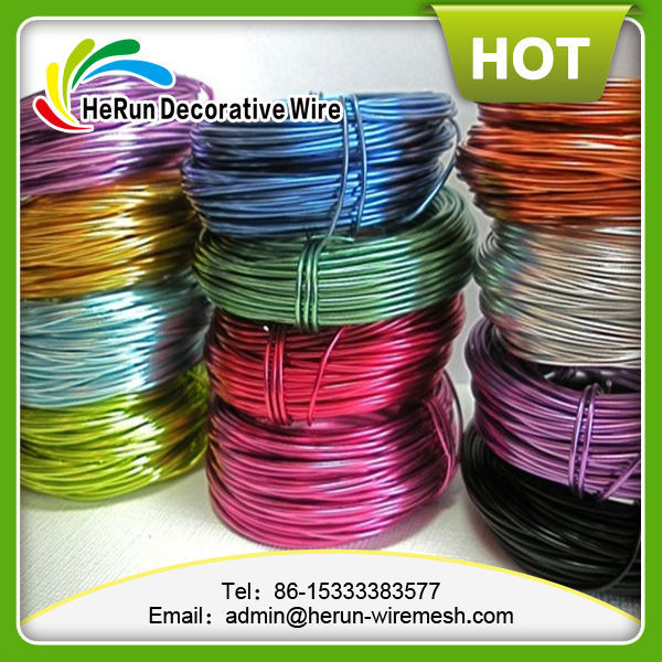 Hot sale anodized aluminum bonsai wire