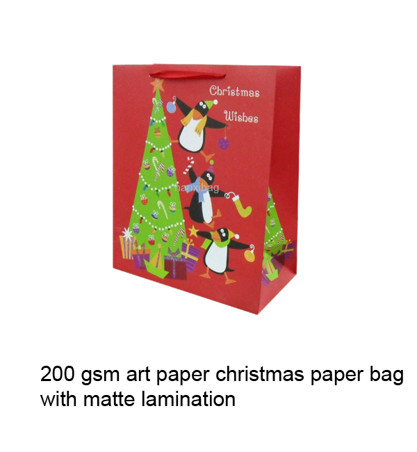 New Year, Valentine's Day, Christmas Paper Gift Bag