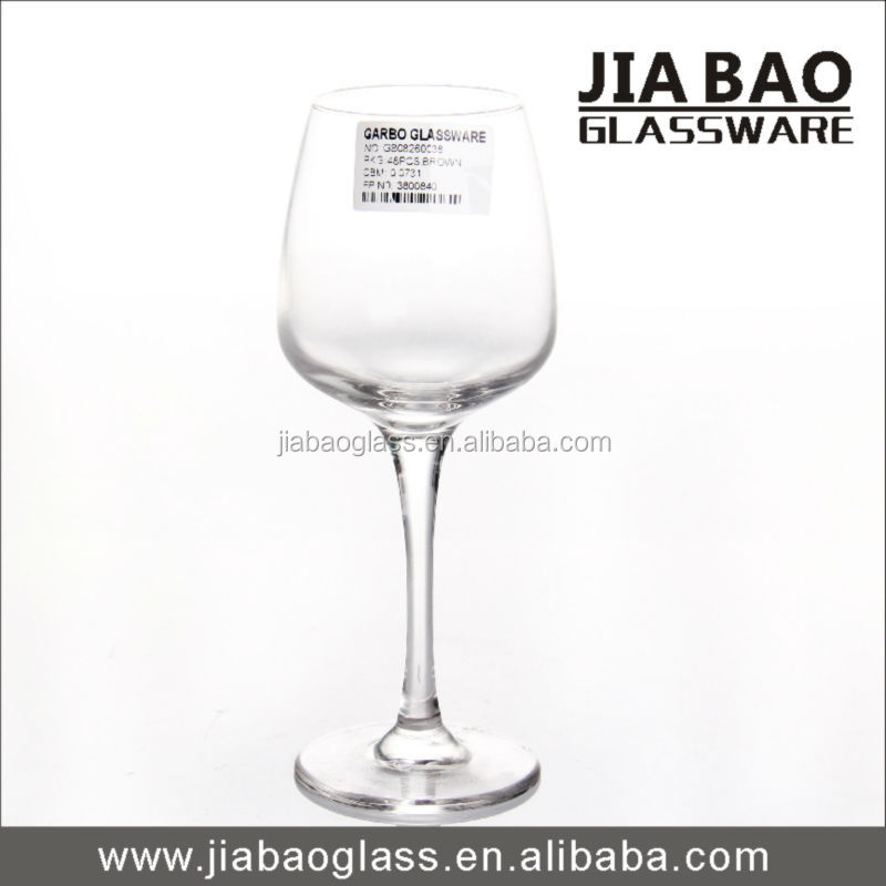 350ml cheap wine glasses wholesale glasses,water goblets sale, water goblet glass GB08260038