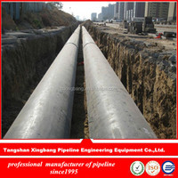polyurethane rigid foam thermal insulation material steel pipe for house heating