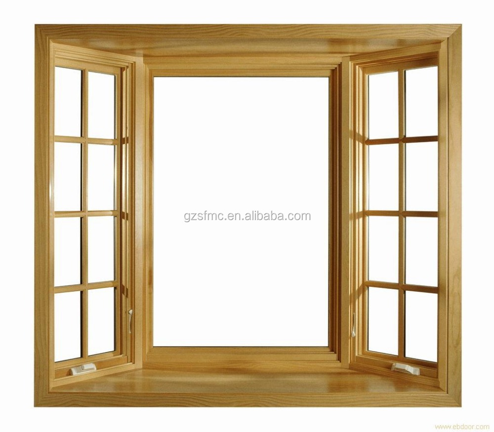 CASEMENT BOW WINDOW with crank Chain