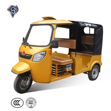 Rear Covered Cargo Tricycle Cabin 3 Wheel Motorcycle
