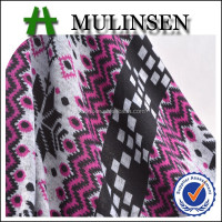 Mulinsen knitting polyester angora print manufacturer company in china