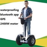 Wholesale strong power 2400 off-road stand motorcycle electric self balance scooter
