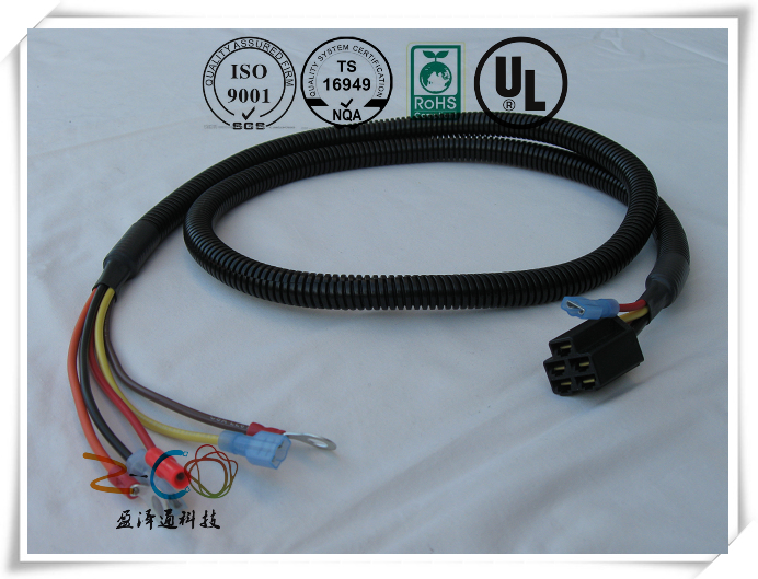 Customized Automotive Wiring Engine Starter Ignition Cable Assembly