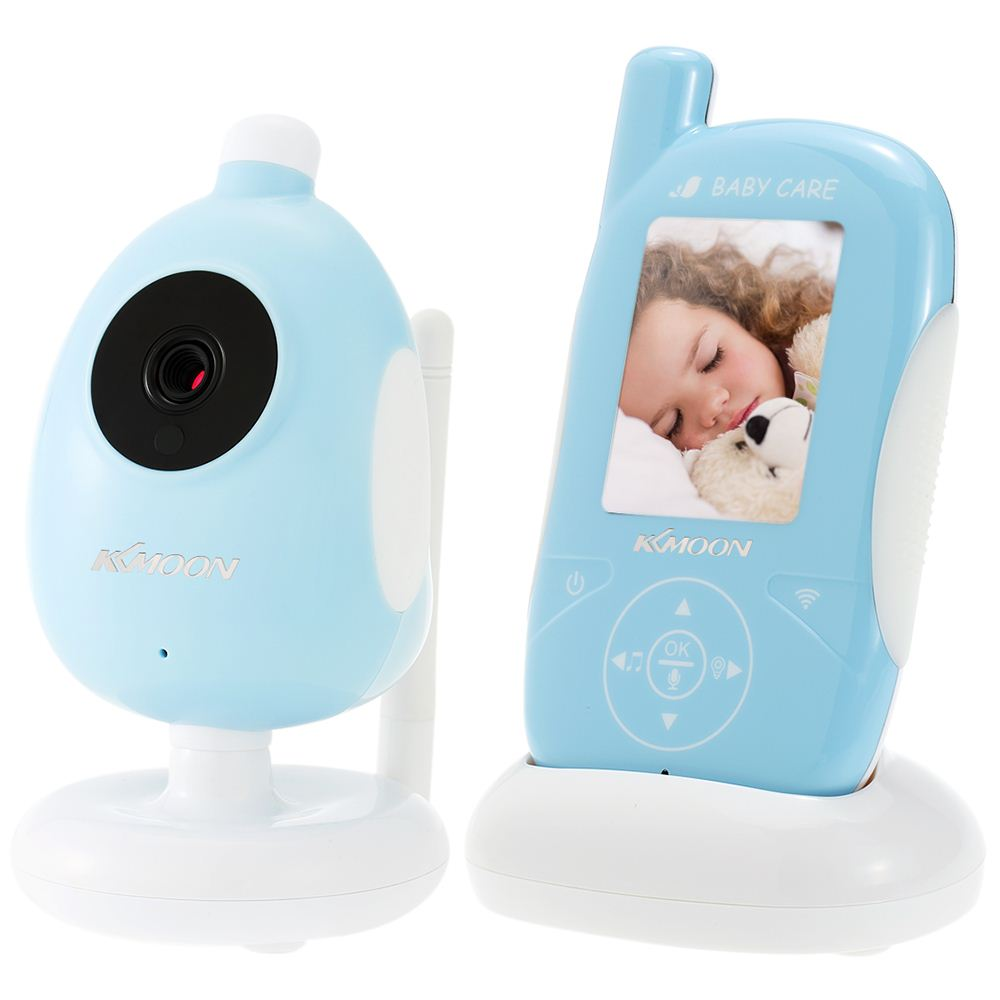 "2.4 Inch Wireless LCD Baby Monitor With 6 IR LEDS Camera 1/4"" CMOS Support 2-way Audio VOX Mode Alarm Clocks Temperature Alert"