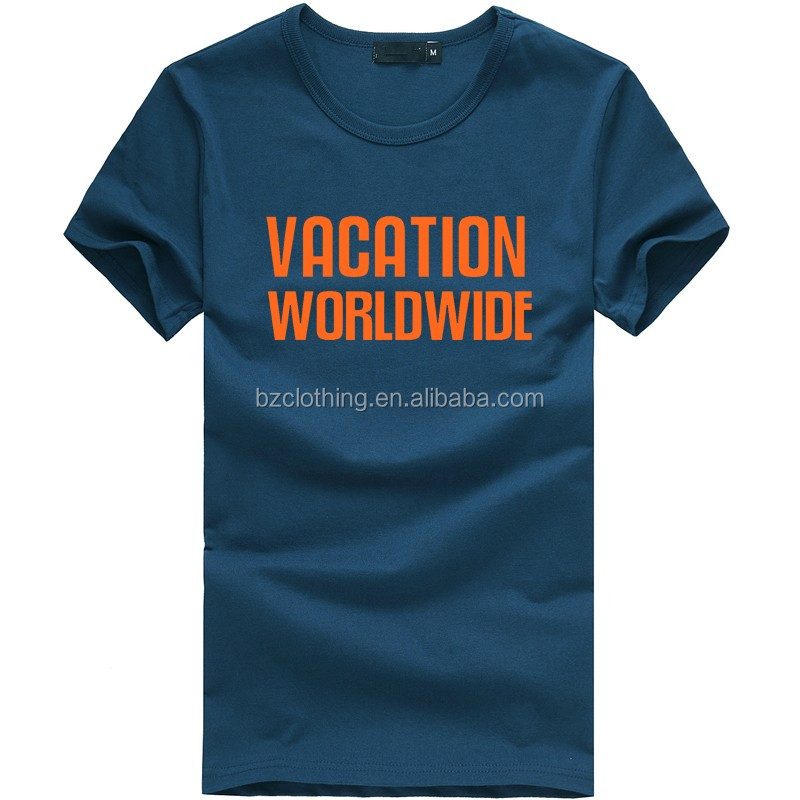 2016 High quality men's t shirt design,custom t shirt printing,100% cotton t shirt wholesale china