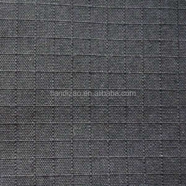 Doped dyed ARAMID plaid fabric for jeans military