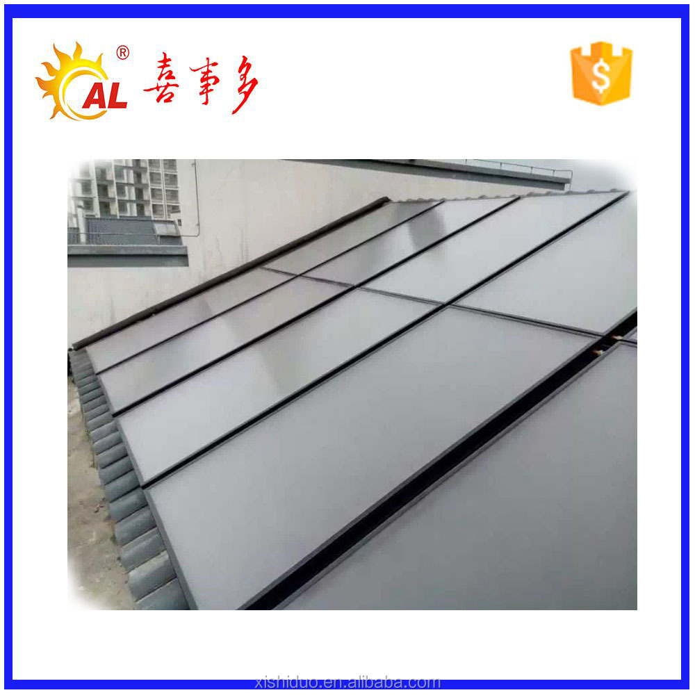 High efficiency solar water heater collector for outground pool