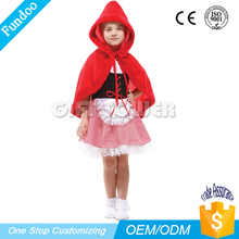 carnaval sophisticated technology girl little red riding hood costume