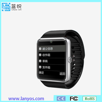 Digital multimedia waterproof watch mobile phone w818 with wifi android watch