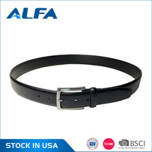 Alfa Latest Chinese Products Custom Famous Designer Split Leather Belts For Men Wholesale