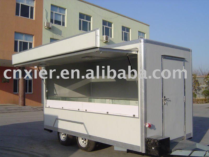 food vehicle trailers rainway bus type meat mincer mobile food van