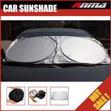 Fabric for cardboard printing car electric magnetic funny car sunshade for car