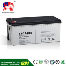 12v 200ah 400ah solar cell gel rechargeable storage battery